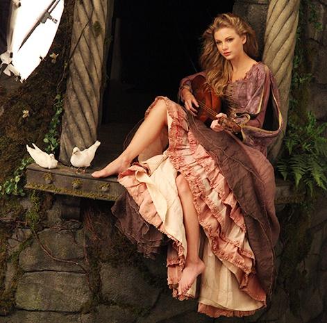 Annie Leibovitz Rapunzel