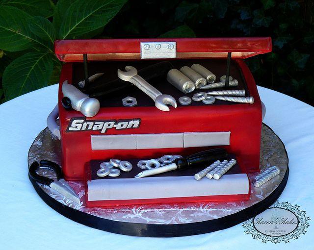 Werkzeug-Kuchen für einen echten Kerl.  #Hochzeit #wedding #Bräutigam
