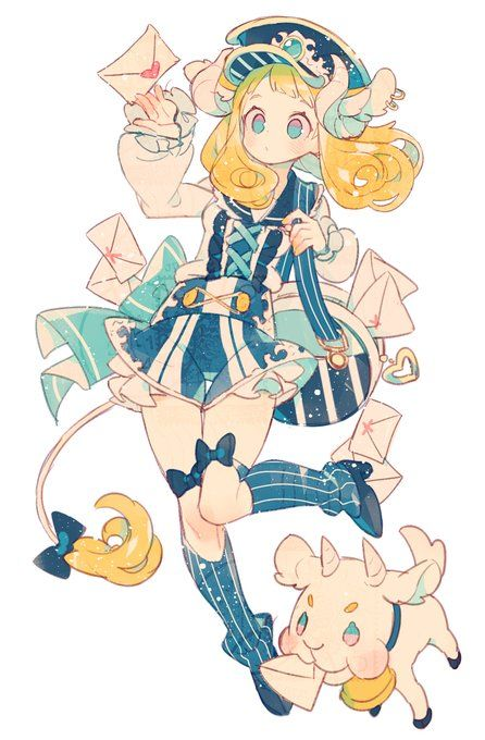 Ref.: Sailor girl Pts.: Style, color, outfit, detail