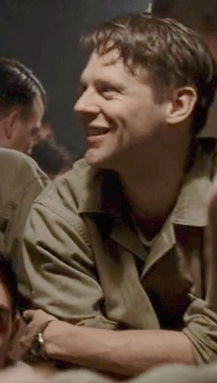 """#Jacob_Pitts as #Bill_""""Hoosier""""_Smith in HBO's_""""The Pacific"""" #jacob pitts #bill """"hoosier"""" smith #The Pacific"""