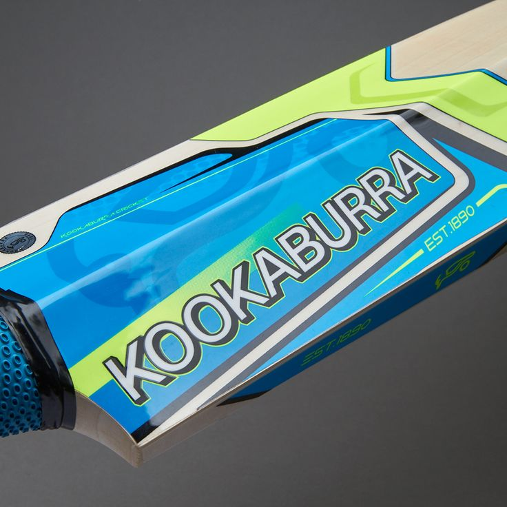 Kookaburra Verve 600 Cricket Bat - Blue - Yellow