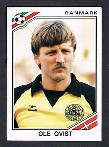 Image result for mexico 86 panini denmark qvist