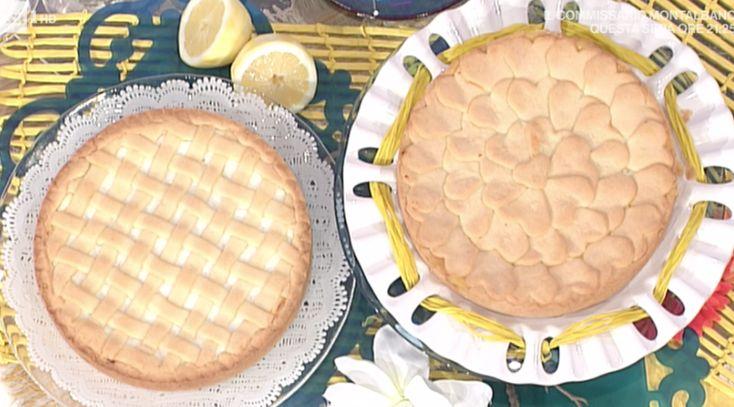 Ricette dolci Natalia Cattellani da non perdere con la torta alla ricotta con crema al limone a La prova del cuoco ricette 16 aprile 2018 (foto)