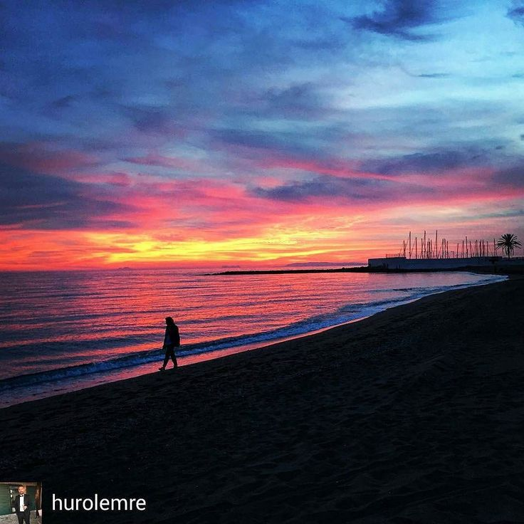@Regrann_App from @hurolemre -  #another #sunset #another #great #evening #beach #beachwalk #with #love #marbella #spain #spain #espana #españa #ispanya #gunbatimi #amarehotelmarbella #amarebeachhotel #zalazaksunca #zalazak #lapuestadelsol #puestadesol #amarebeach #sahilde #travel #weekend #saturday #mediterranean #carpediem #livethelittlethings #livethemoment