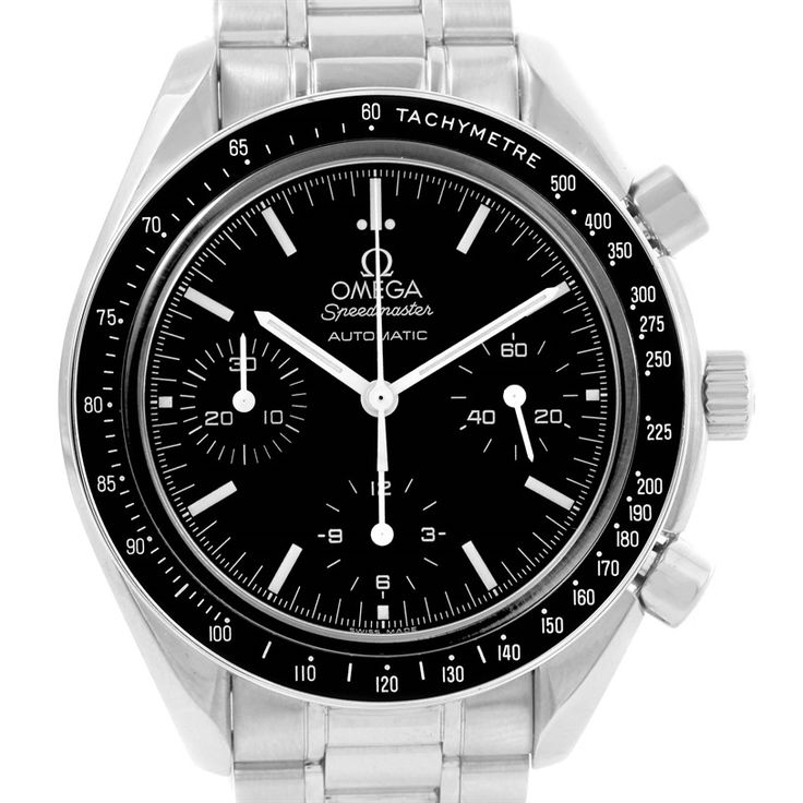 Omega Speedmaster Reduced Automatic Watch 3539.50.00 Box Papers