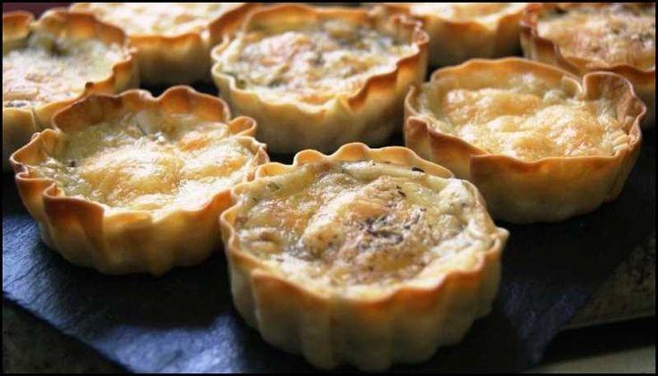 Tartaleta de boletus, tierra y mar: Hoy Anna nos presenta unas tartaletas con sabor especial…, tierra y mar. Boletus y atún... mezclados con... y empeza...