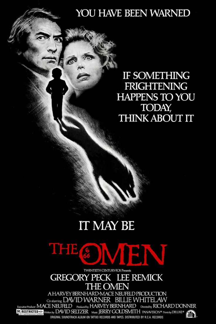 The Omen (1976) Gregory Peck, Lee Remick, Harvey Stephens, David Warner