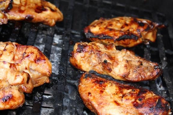 Easy, yummy, tender Teryaki Chicken: Gardens Recipes, Marinades Recipes, Cups Sugar, Redheads Hostess, Teryaki Chicken, Cups Oil, Tenders Teryaki, Chicken Marinades, Cups Soy