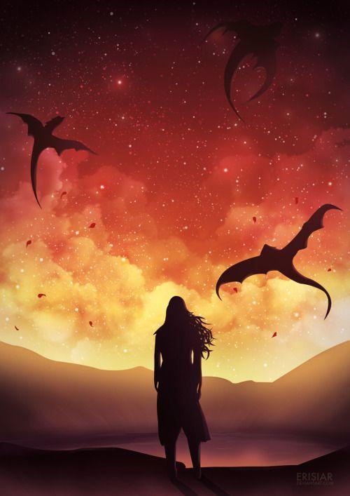 Daenerys by Erisiar