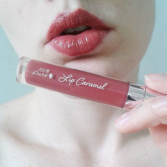 100% Pure's Lip Caramel in Truffle