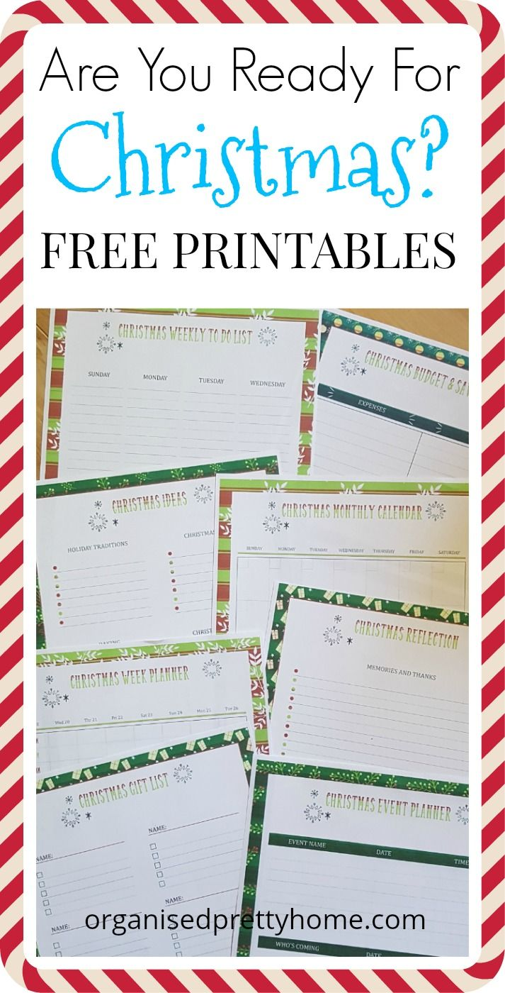 My family dollar life pay stub - Life Hacks For Busy Moms And Families Christmas Holiday Season Organization With These Free Planner Printables Gift List Ideas For The Kids Weekly Count