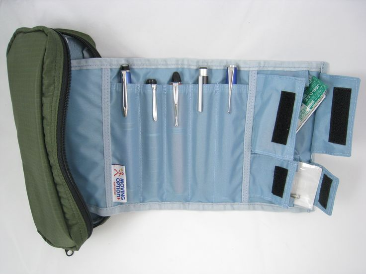 Nomadic Pd 04 Roller Pencil Case Unrolled Nomadic Is A