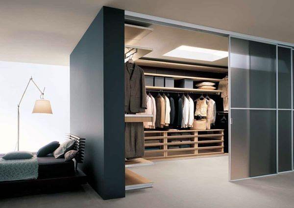 Come arredare camera da letto con cabina armadio