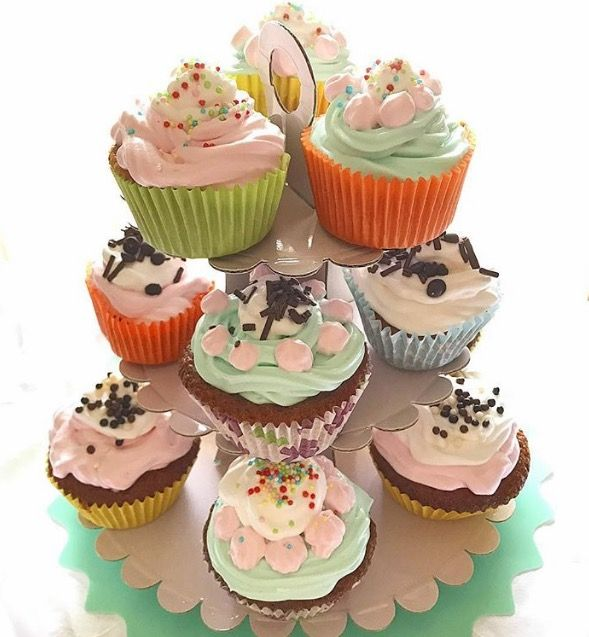 Cupcake multi color | My Kitchen 56