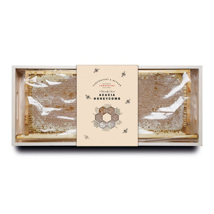 Acacia Honey Comb In Wooden Frame $92