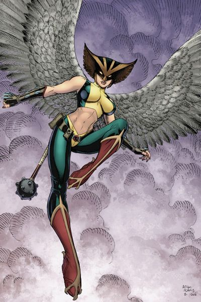 "How to make a DC's ""Hawkgirl"" costume"