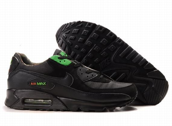 https://www.kengriffeyshoes.com/nike-air-max-90-black-green-fashion-p-775.html NIKE AIR MAX 90 BLACK GREEN FASHION Only $69.55 , Free Shipping!