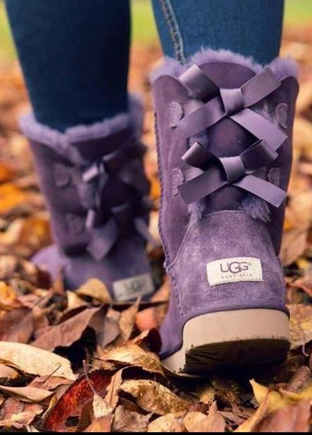 Purple UGGS!! ,<3 , from Iryna