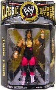 Bret Hart The Hitman WWE WWF Classic Superstars NIB Collection Series JAKKS PACIFIC