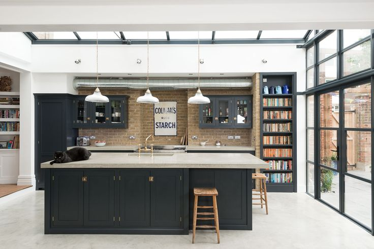 This Balham Kitchen by deVOL was full of sunshine and charm, an eclectic mix of interesting things.