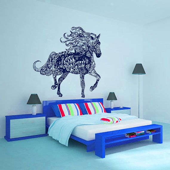 Wall Decals In Dorms : Best ideas about horse wall decals on