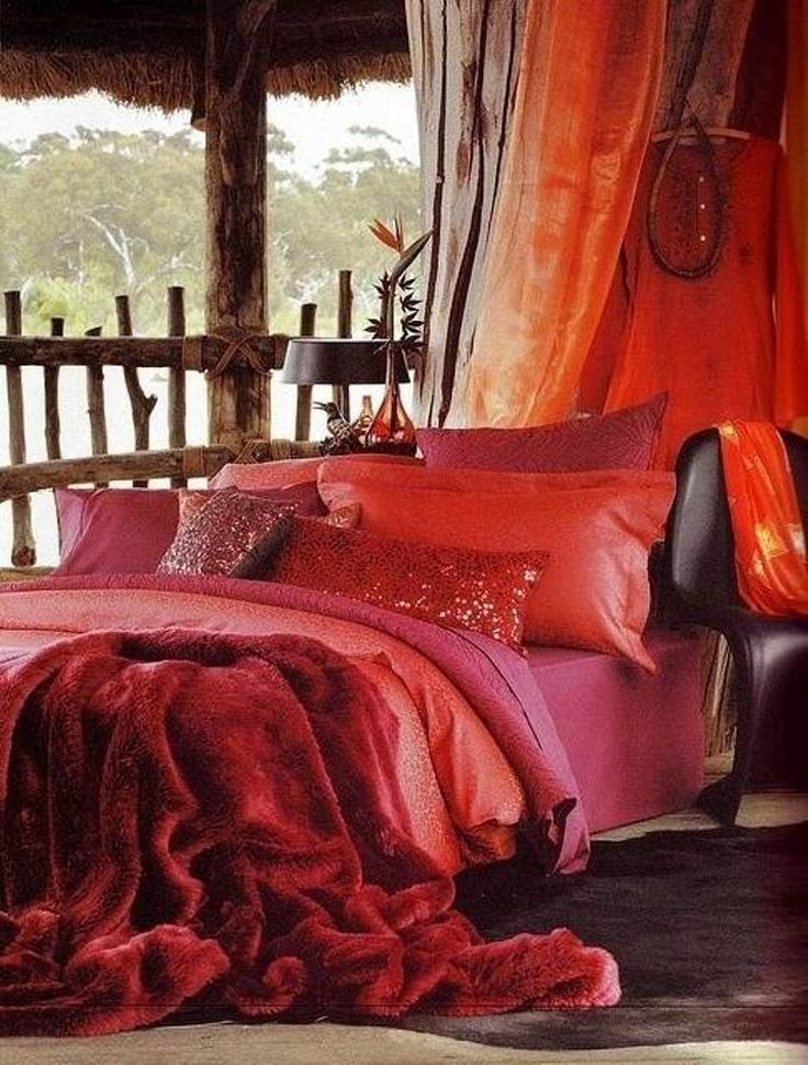 100 best boho erotic bedroom images on pinterest bedroom for How to decorate a red bedroom