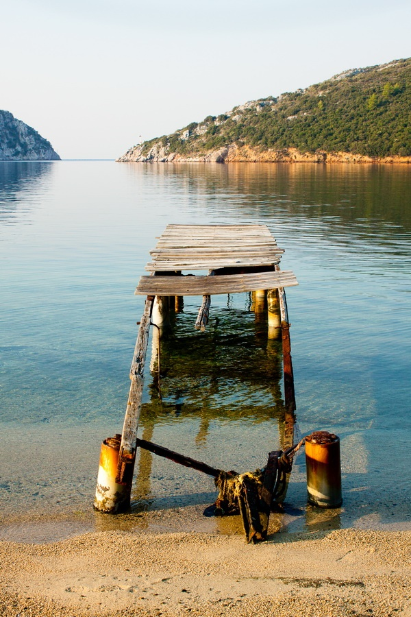 porto koufo, sithonia, greece