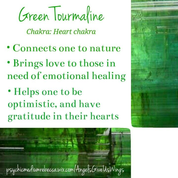 Green Tourmaline crystal meaning