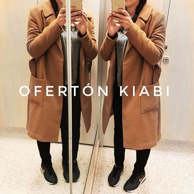 🛍 OFERTÓN KIABI . . Abrigo marrón bajada de precio de 59€ a 10€ en tiendas. . .@kiabi  Comprado en tienda física en Camas, Sevilla.  #kiabi #compras #haul #rebajas