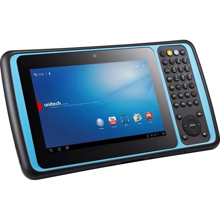 """Unitech TB120 8 GB Tablet - 7"""" - Wireless LAN - 3.75G - Texas Instrum, Grey #TB120-RAWFUMDG"""