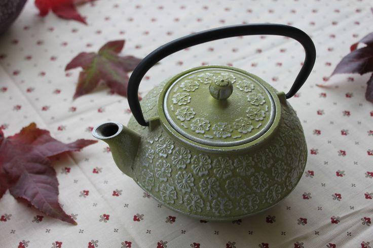Bule ❀ Menta - Bule de cor suave, levemente romântico, que nos remete para aromas intensos e rituais antigos. Inspired by Lemon