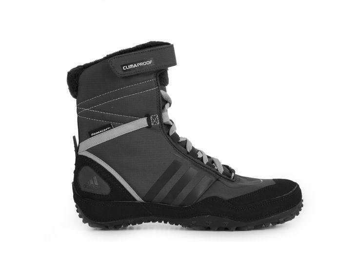 Adidas Libria Winter Boot CP PL W / šedo-černá