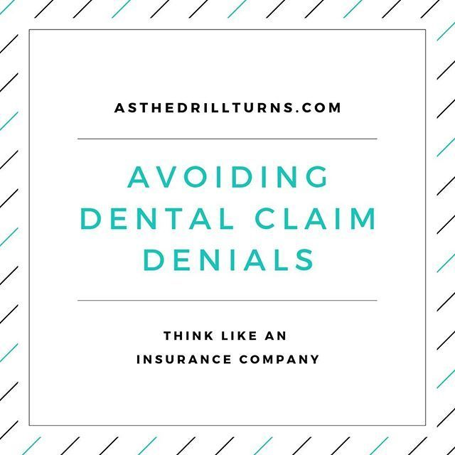 The Dental Team Must Be Smarter Than The Dental Insurance Companies We Can Do That By Knowing Each Patient S Policy Dental Insurance Dental Insurance Company