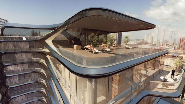 luxury condo architecture | zaha hadid architects 520 west 28th street new york condo designboom