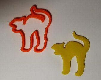 Scary cat cookie cutter - Emporte-pièce chat effrayant - Modifier la fiche - Etsy