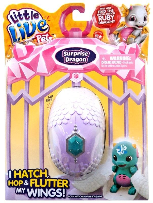 Little Live Pets Dragons Green Mystery Figure Pack Shiver Or Splash Completely Random In 2020 Little Live Pets Pet Dragon Cool Toys For Girls