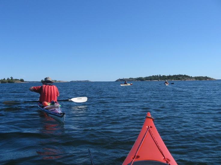 Sea kayaking in Archipelago PAN Park / Photo: Heidi Arponen