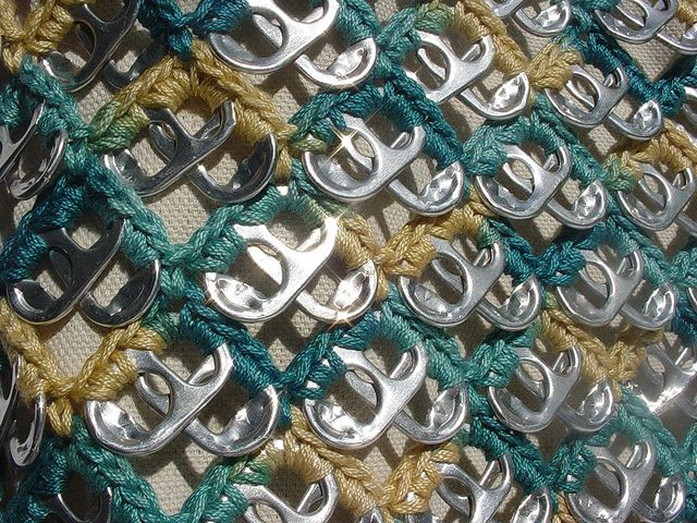 """New Pull Tab """"Wave"""" Design by Pop Top Lady, via Flickr"""