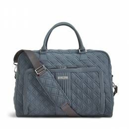 Vera Bradley Weekender Travel Bag in Charcoal