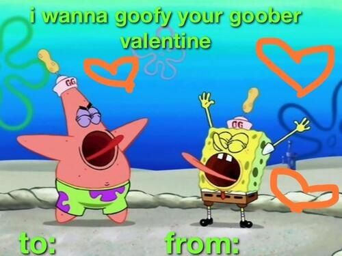 spongebob valentines day coloring sheets