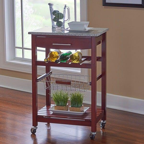 Portable Kitchen Rolling Cart Island Storage Wine Rack: 25+ Best Ideas About Mobile Kitchen Island On Pinterest