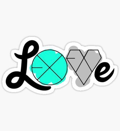 EXO LOVE (Sticker) Sticker
