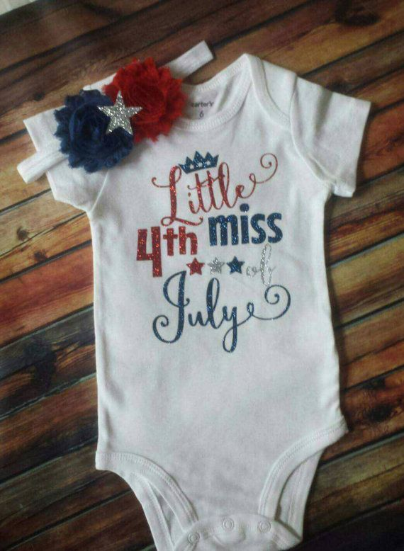 4th of july onesie
