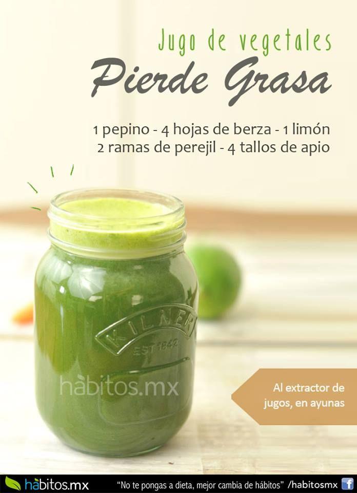 Hábitos Health Coaching | JUGO DE VEGETALES PARA PERDER GRASA