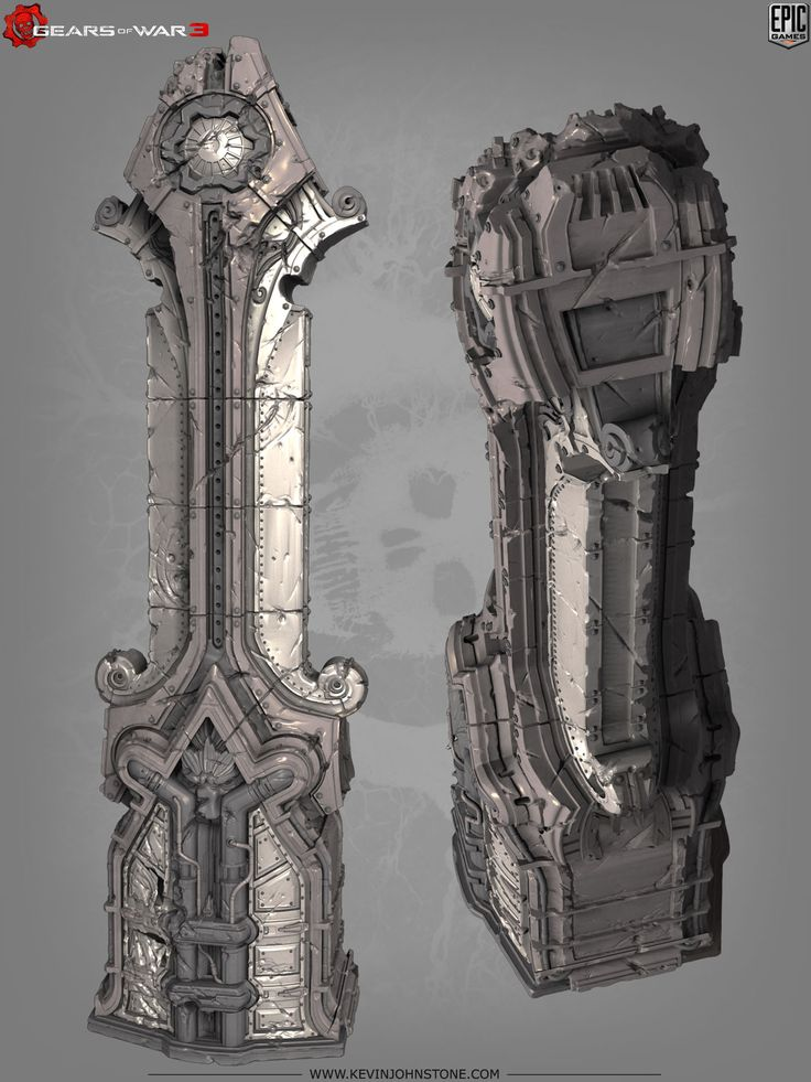 Gears of War 3 environment art