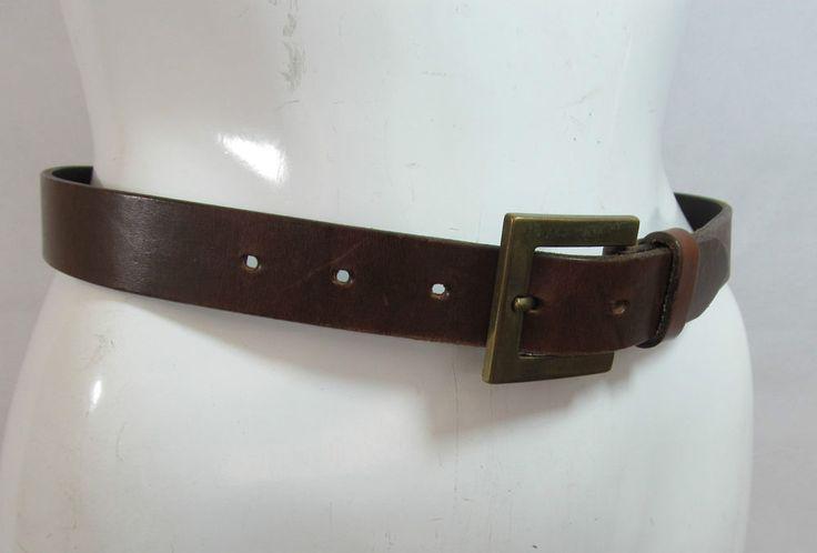 Next Vintage look brown leather belt fashion belt R15323 #style #fashion #love #woman #chic #eBay #BELT #sangriasuzie