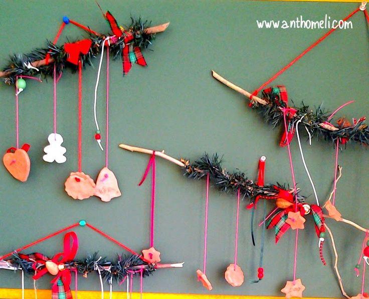 Christmas crafts, χριστουγεννιάτικες χειροτεχνίες, , Anthomeli, Ανθομέλι: Ιδέες για εύκολες χριστουγεννιάτικες κατασκευές παρέα με τα παιδιά