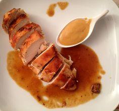 Petto di pollo al forno in crosta e salsa di senape e miele *** chia's kitchen ***