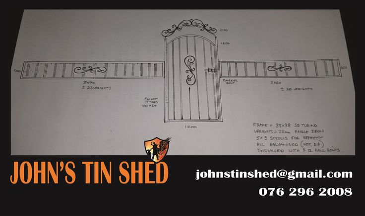 Wall extension & gate design