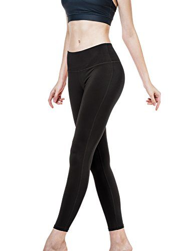 CLSL TMYP06BLK_Small Tesla Womens Yoga Pants Slimming Fitness Leggings w Hidden Pocket YP06 *** You can get additional details at the image link.
